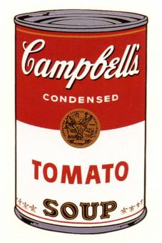 Andy Warhol:Campbell's Soup Can I - Tomato
