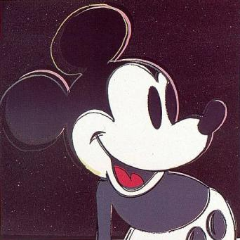 Andy Warhol:Myths: Mickey Mouse, F & S II.265