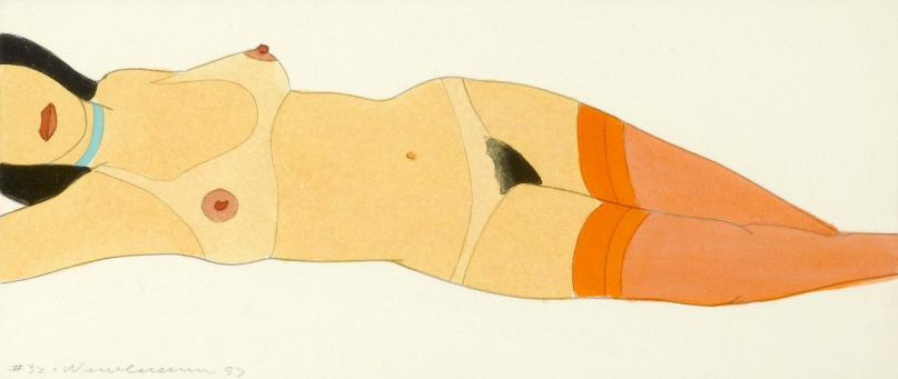 Tom Wesselmann:Reclining Nude (Variable Edition) #32
