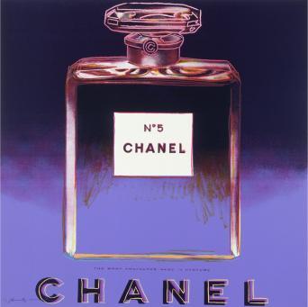 Andy Warhol:Ads: Chanel, F & S II.354