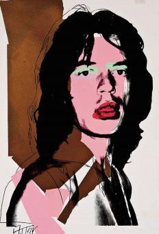 Andy Warhol:Mick Jagger, F & S II.143