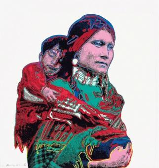 Andy Warhol:Mother and Child, (FS II.383)
