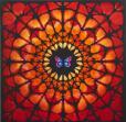 Damien Hirst:Sanctum (Orange and Green)